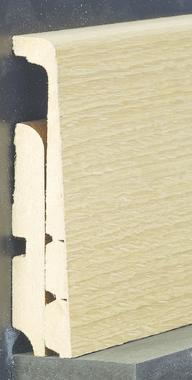 Plinthe de recouvrement 120 mm for Peindre plinthes bois